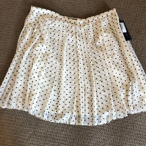 NWT Tommy Hilfiger Polka Dot Skirt